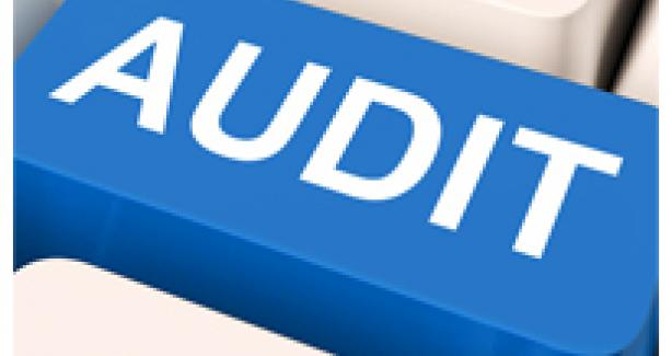 Image of an audit button